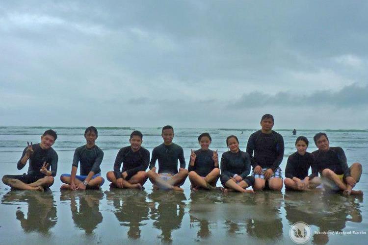 #1. Surfing at Sabang Beach