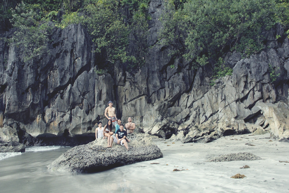 #7. Enjoying Black Fine Sand of Busdak Beach