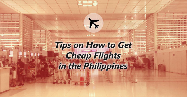 How To Book Cheap Flights in the Philippines