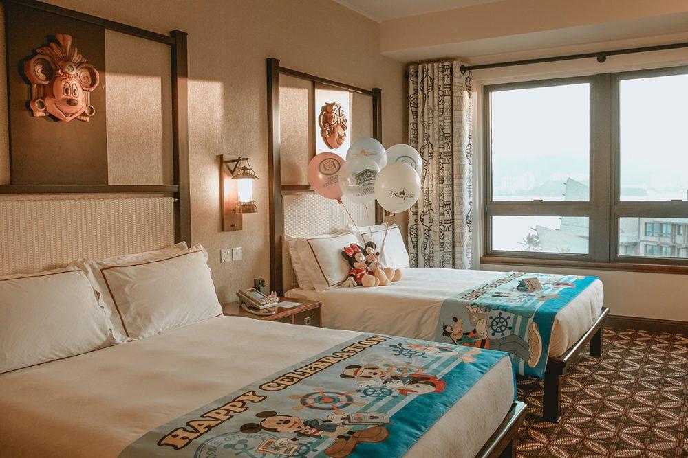 Disneyland Hongkong Expedition Lodge Rooms