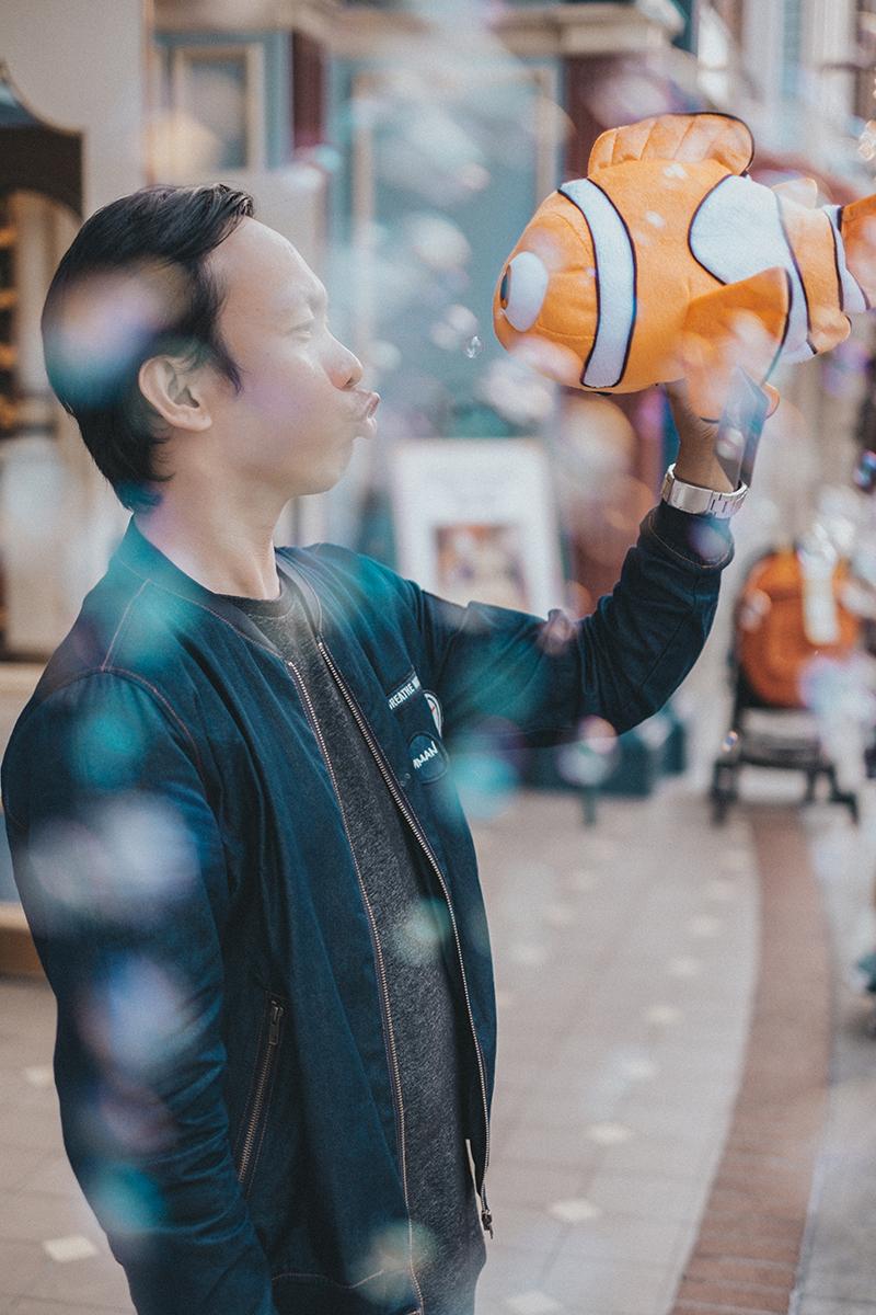Wandering Weekend Warrior in Disneyland Hongkong
