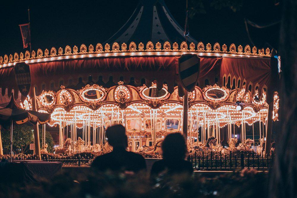 Disneyland Hongkong Cinderella Carousel
